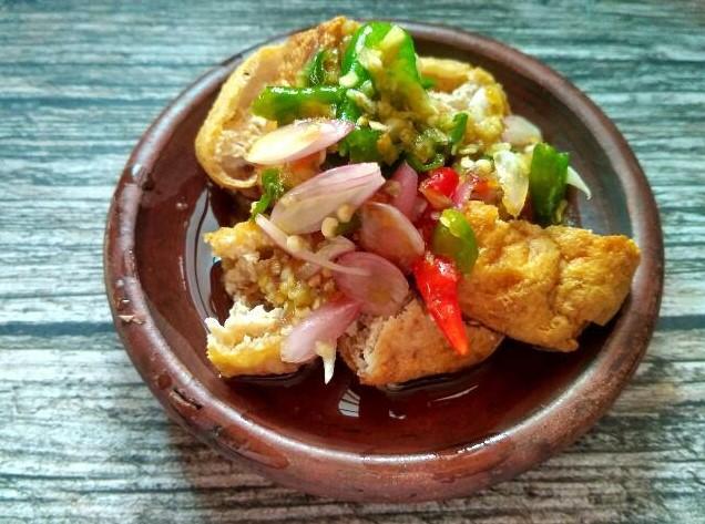 Makanan Khas Jawa Barat-Tahu Gejrot