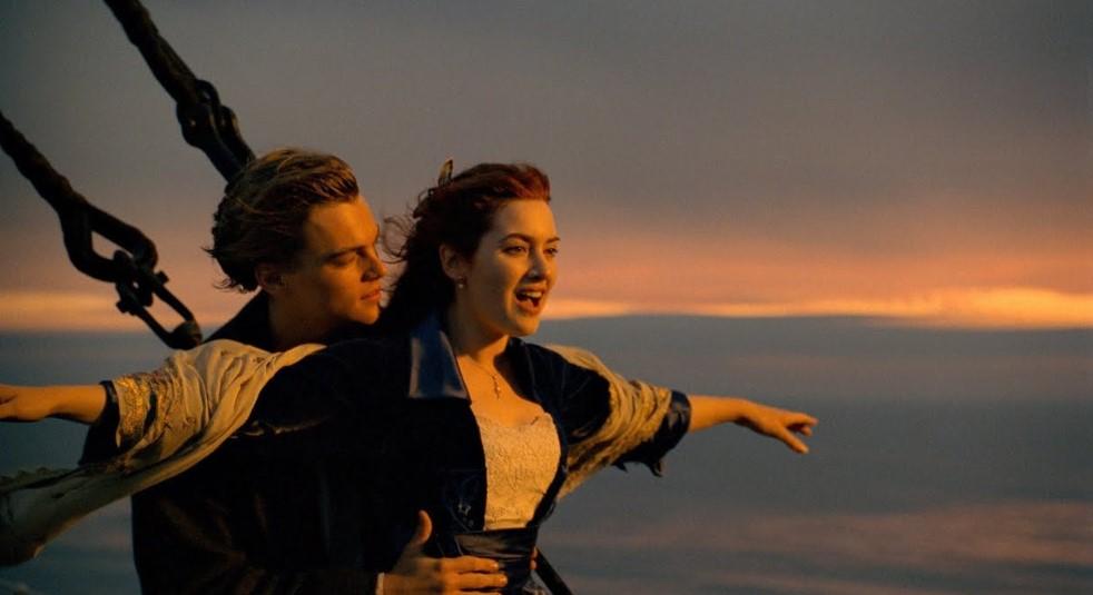Film Hollywood Teromantis-Titanic-1998