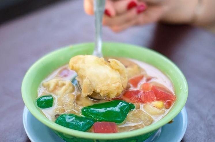 Makanan Khas Sumatera Utara-Kolak Durian