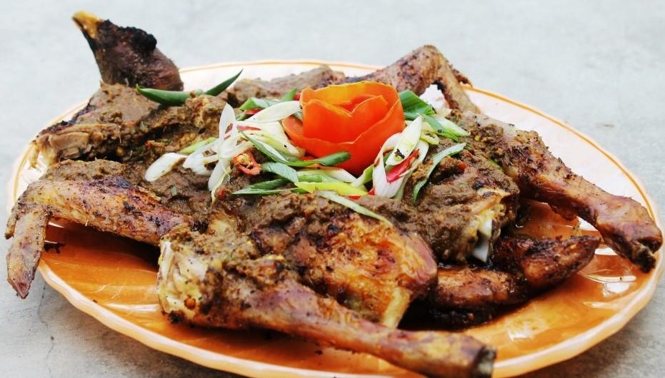 Makanan Khas Sumatera Utara-Manuk Napinadar