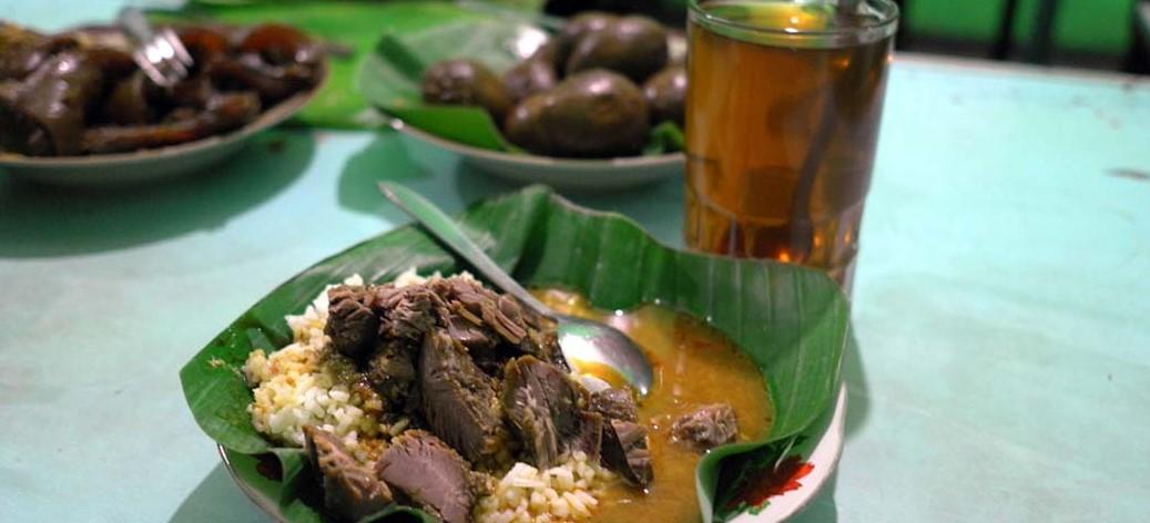 Kuliner Malam Semarang-Nasi Gandul