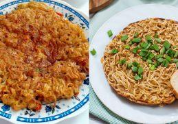 cara membuat omelet mie sehat